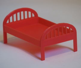 Simple Cot for Dolls