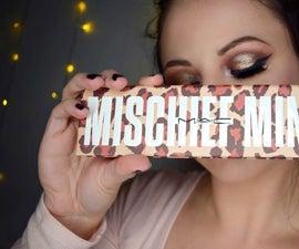 Gold Glam Eye Makeup - Mac - Mischief Minx Tutorial