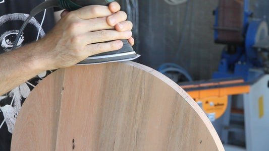 Sanding and Edging
