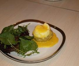 Artichoke Hearts & Eggs Hollandaise