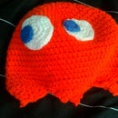 Pac-Man Ghost Hat