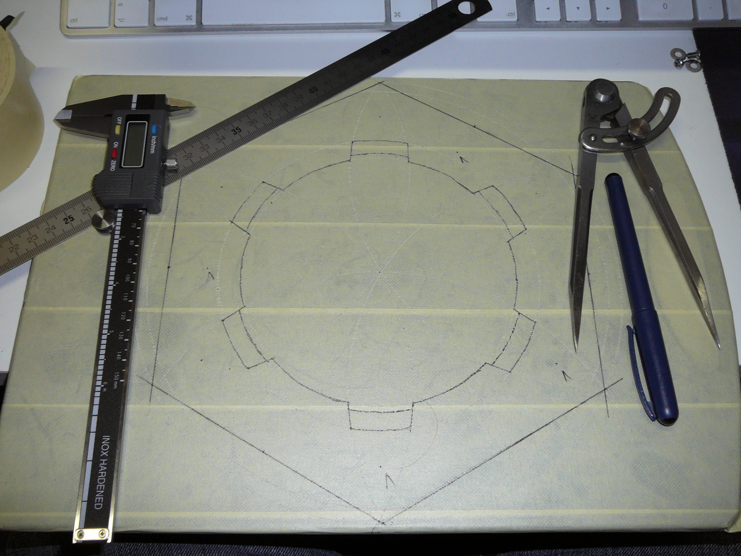 Picture of Cutting and Building the Casing