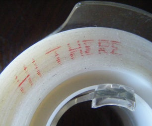 How to Write Secret Messages With Tape