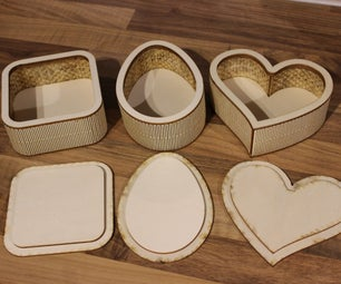 Custom Shaped Wooden Boxes