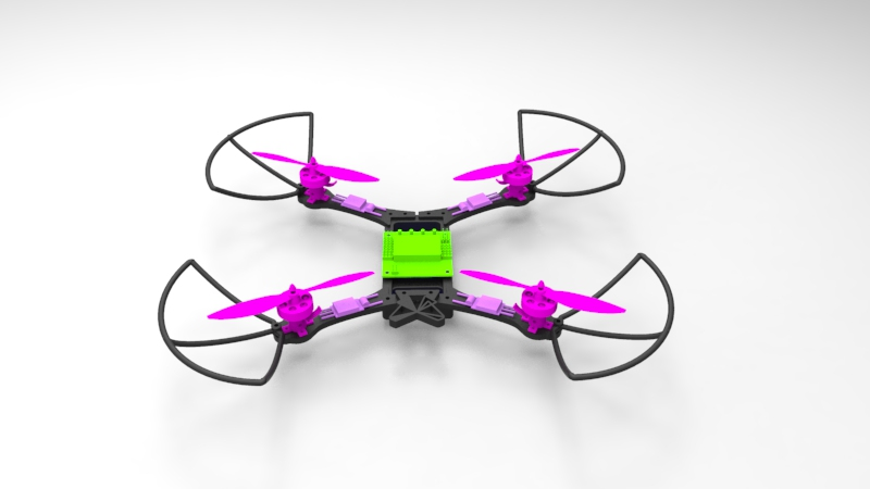 Picture of MAKE a QUADCOPTER WITH FORM1+