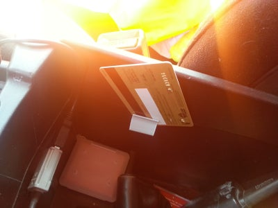 Center Console Card Holders