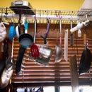 Over sink Pot/Utilities Hanging Shelf