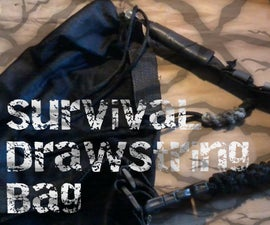 Survival DrawString Bag