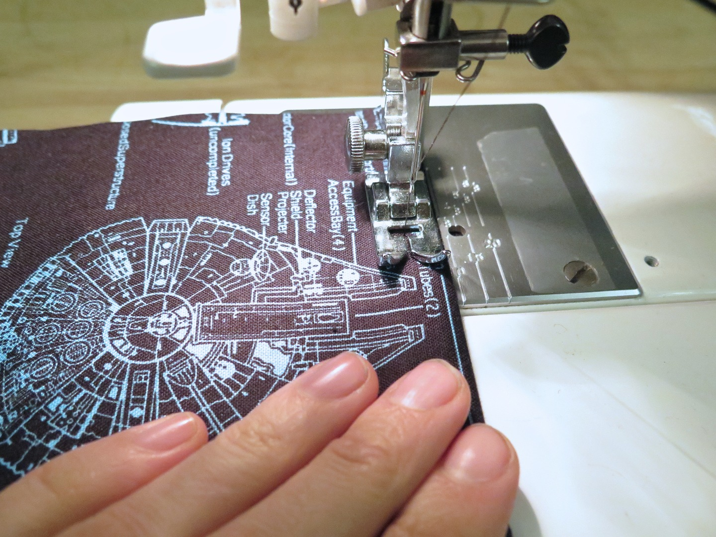 Picture of Cutting and Sewing the Lining