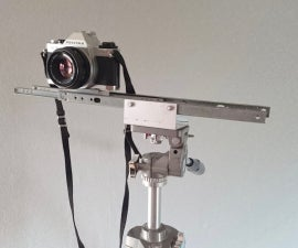 Simple Camera Slider for on a Tripod