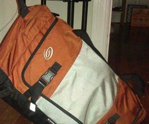 Add Detachable Wheels to a Duffel Bag