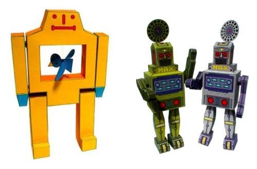 Picture of Free Papercraft Robots