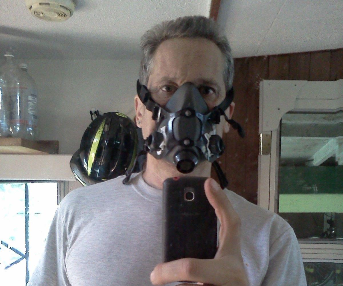 respirator mask welding