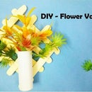 DIY Popsicle Flower Vase