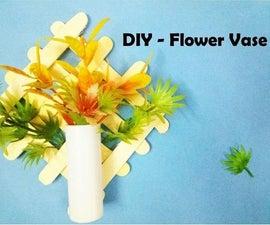 DIY Popsicle Flower Vase