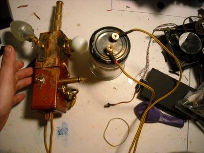 Steampunk CFLED (Close Focus Light Emiting Drill) Aka the SLB (Steampunk Light Blaster)
