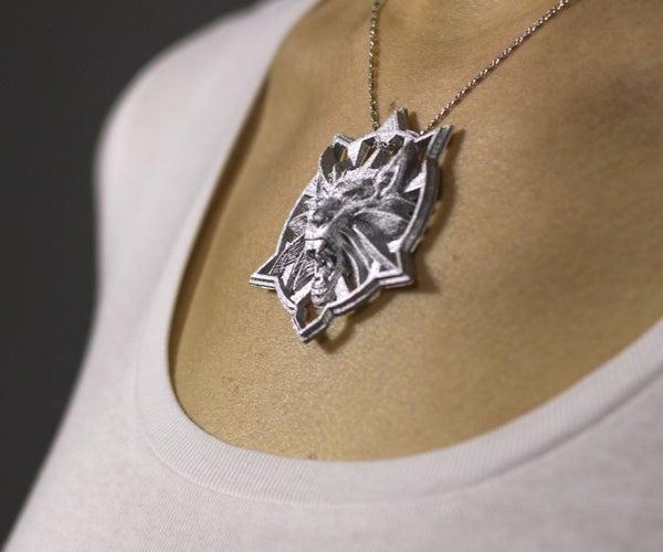 DIY Witcher's Wolf Medallion