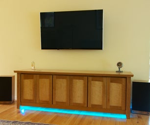 IPhone-Controlled Entertainment Center