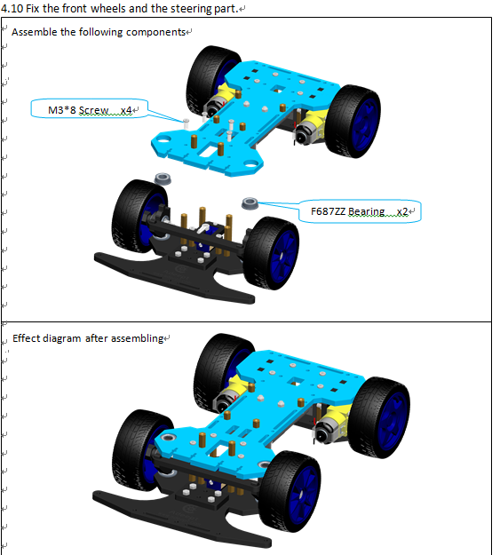 Picture of Front Wheels