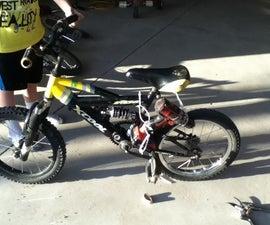 Electric Drill Bike