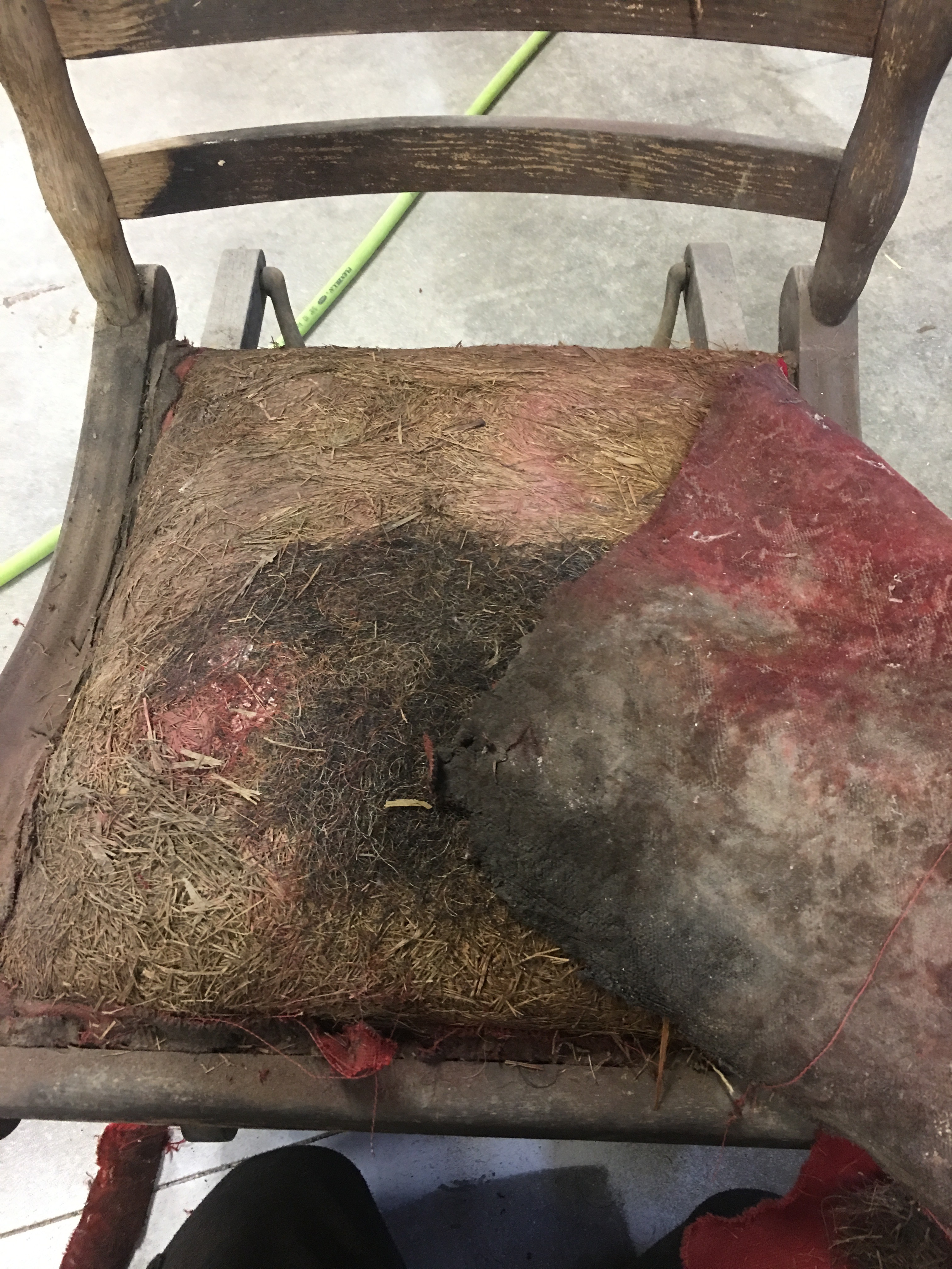 Picture of Upholstery Removal