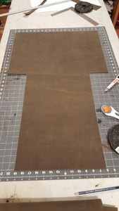 Cutting Out Your Leather