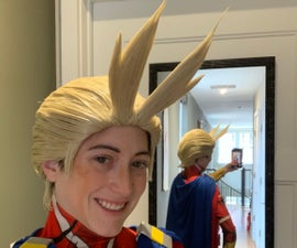 All Might Wig (from My Hero Academia / BNHA)