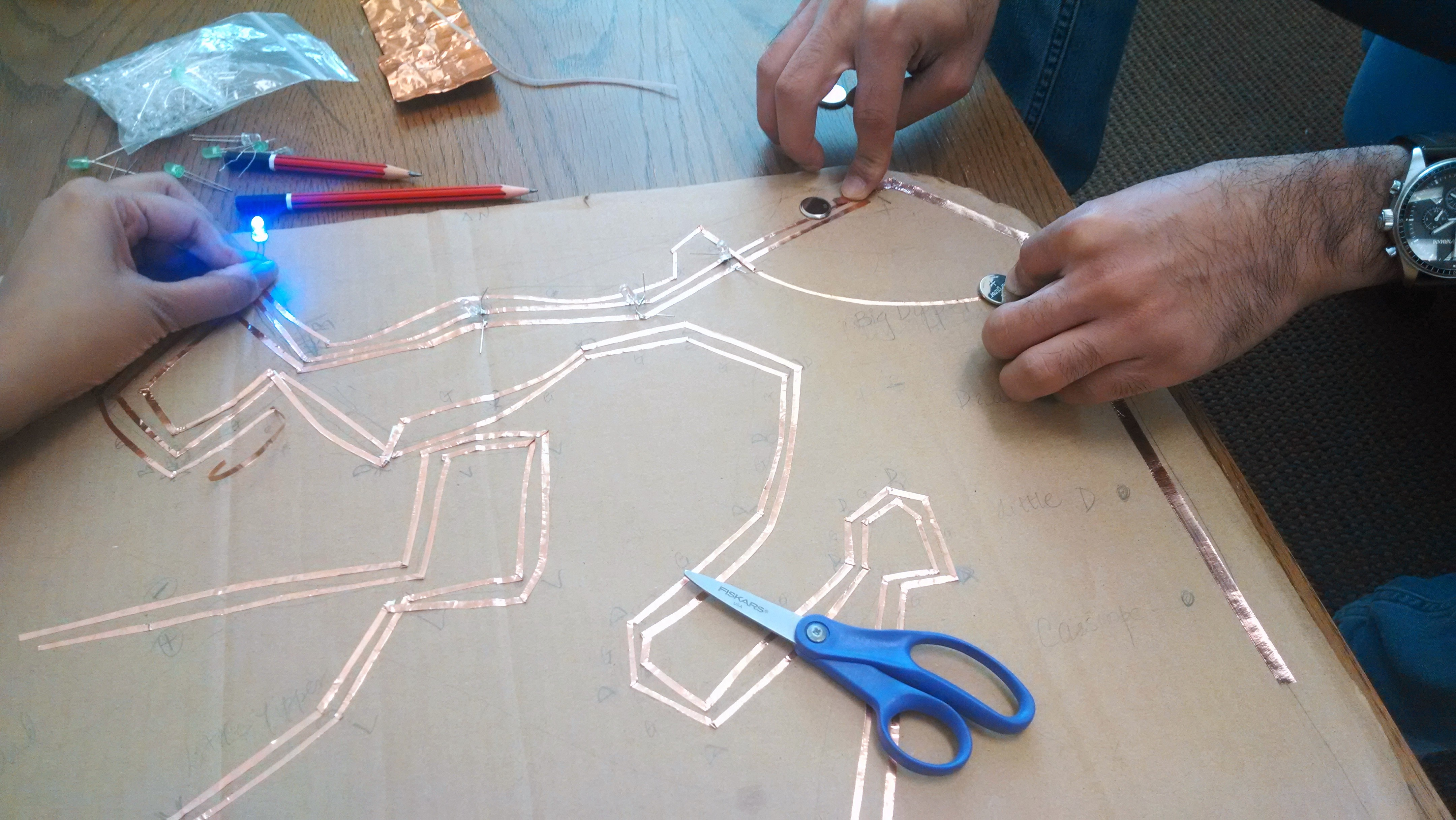 Picture of Start Making Constellation Circuits