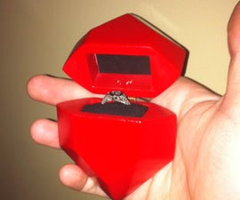 The Legend of Zelda: Rupee Engagement Ring Box
