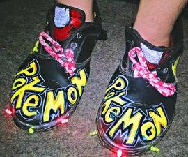 DIY LED Pokemon Shoes