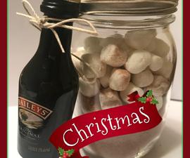 Bailey's Hot Chocolate Mason Jar