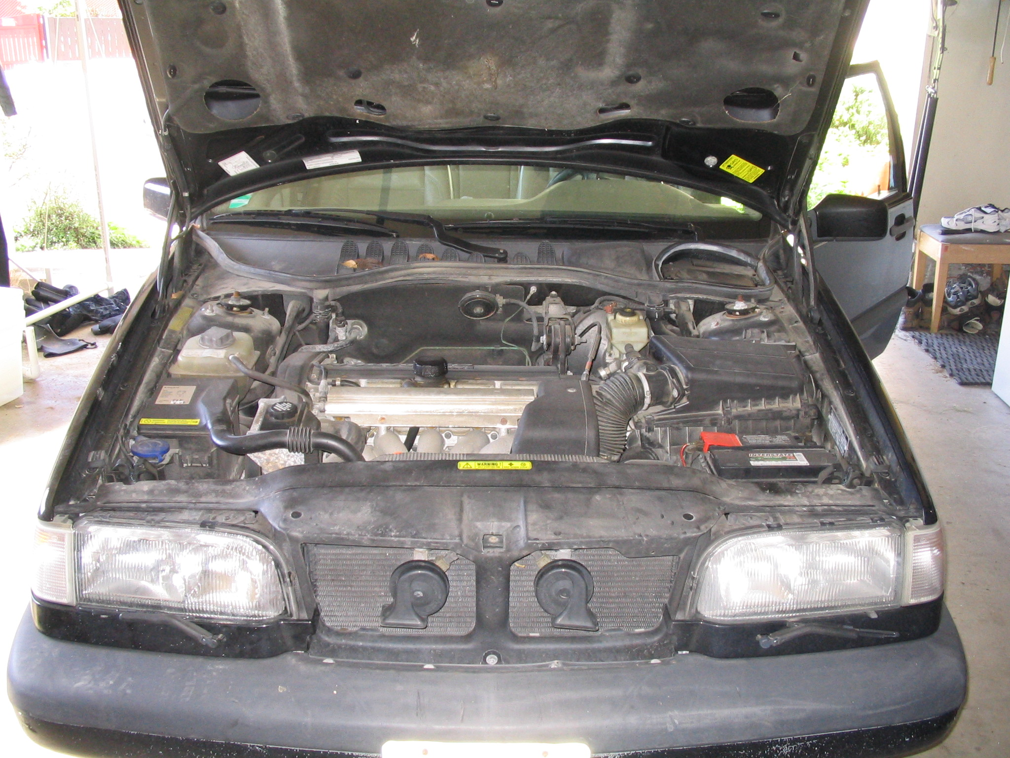Picture of Open Hood and Check Reflector