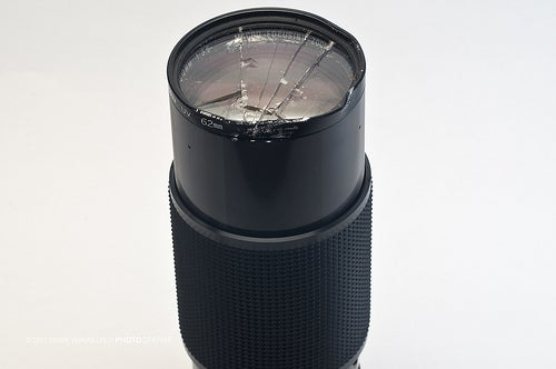 Removing a Broken Filter Ring From a Lense