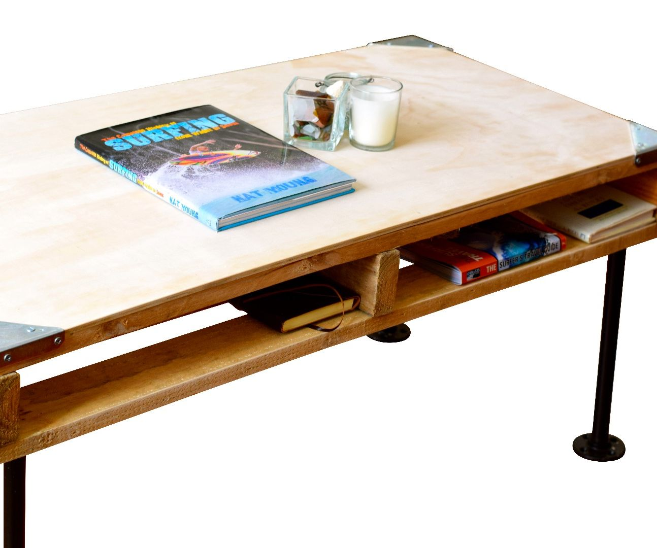 Computer Coffee Table Pallet Furniture