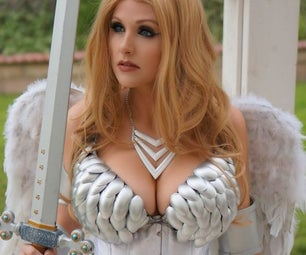 Scale Armor Bra Made Out of Spoons