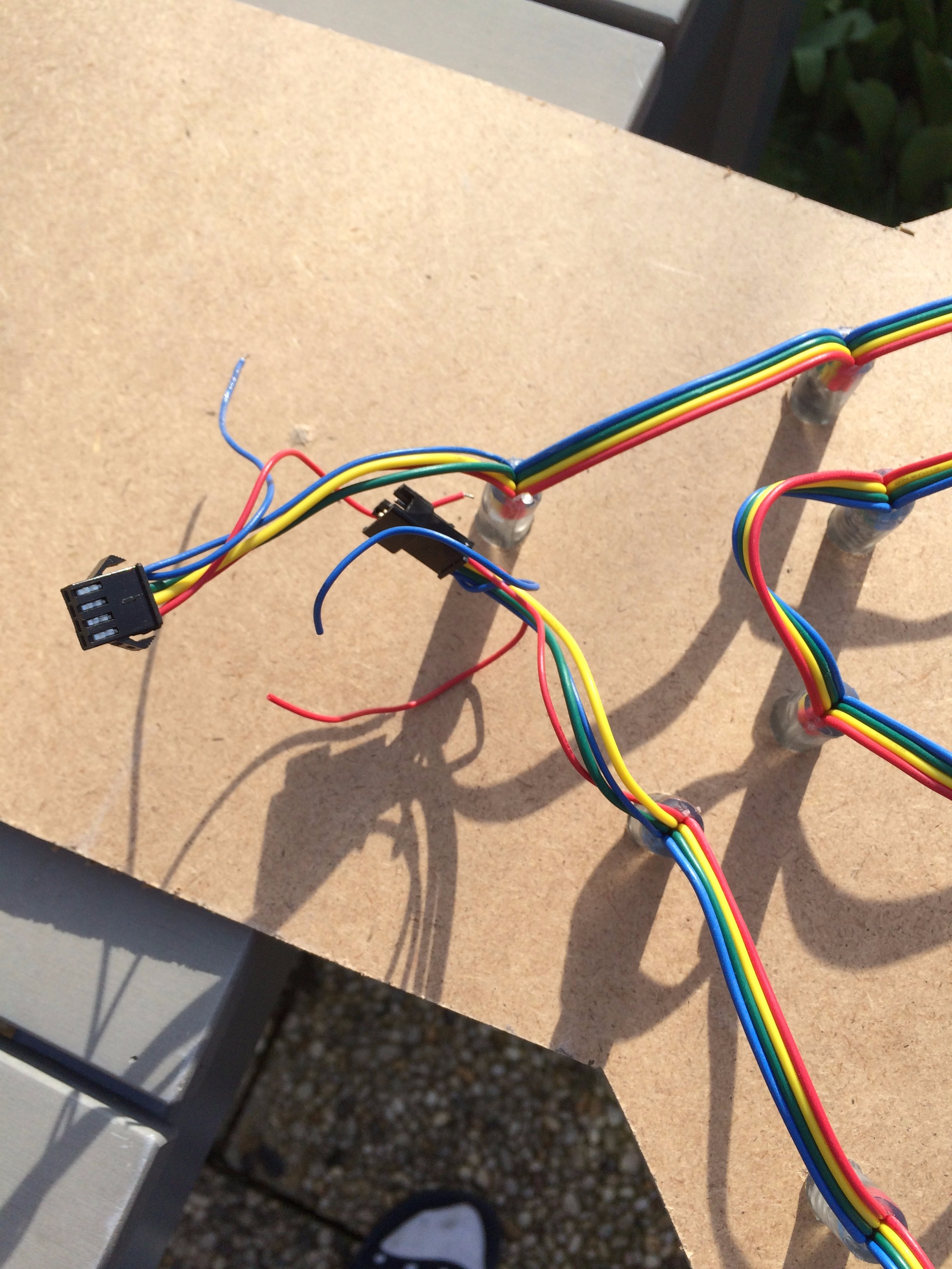 Picture of Step 3: Insert the LEDS