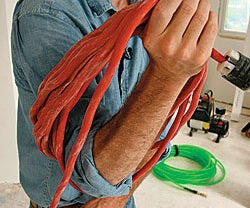 How to Rescue an Over-Twisted Power Cord