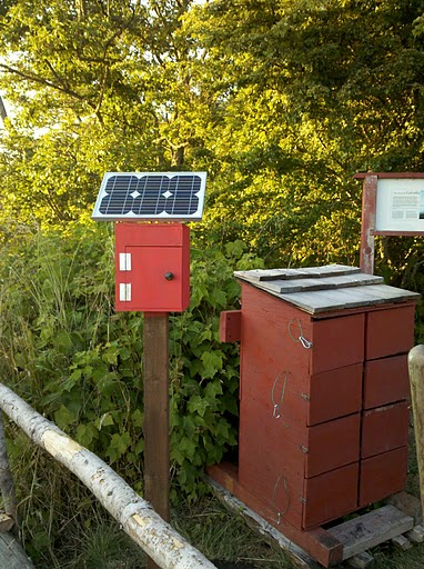 A Simple Solar Charging Station