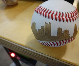 Laser Etch a Baseball