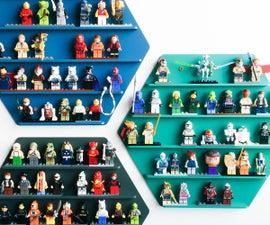 Hexagon LEGO display