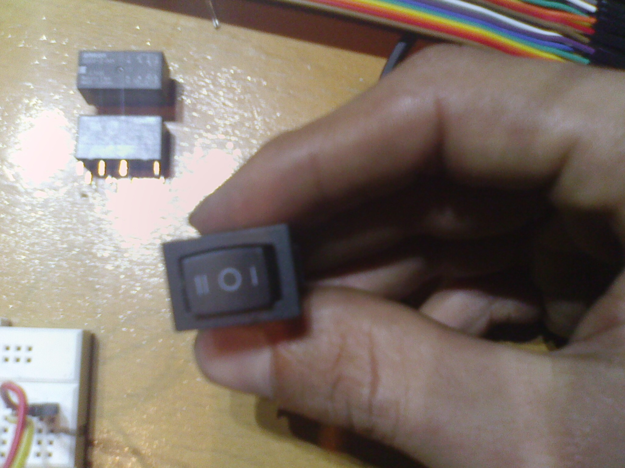 Picture of Electronics Parts: