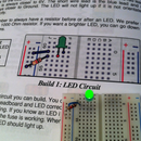 Breadboard and LED