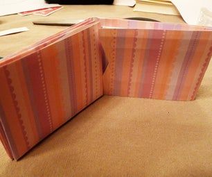 Scrapbook Paper Wallet With Additional Flaps!