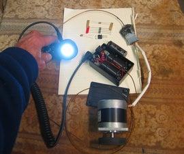 Bike light generator