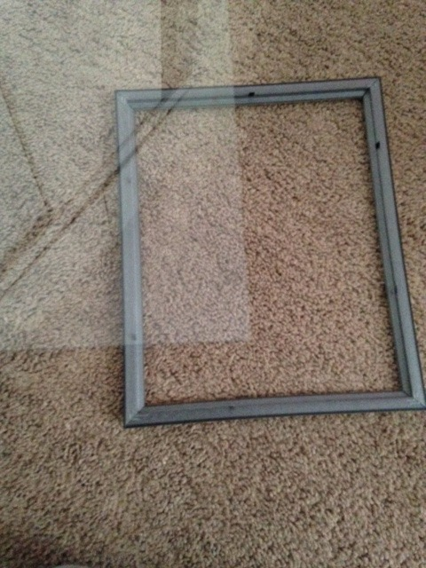 Picture of Put Letter in Frame