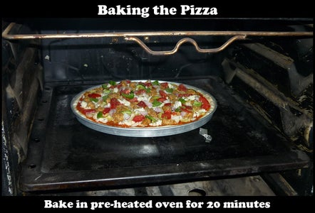 Baking the Pizza