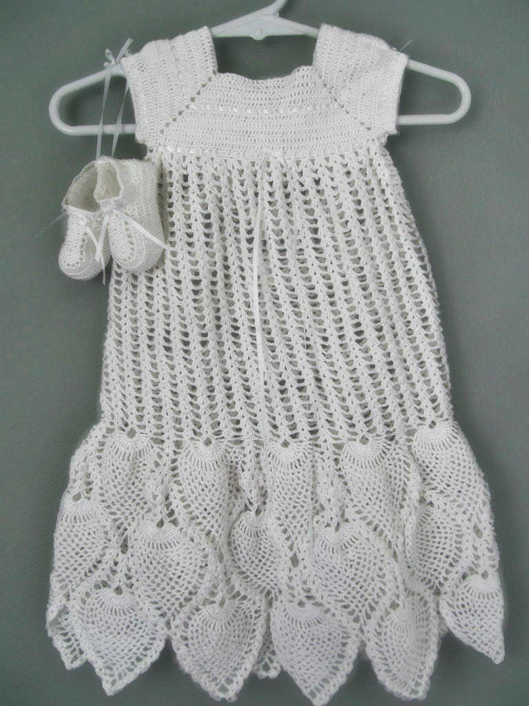 Picture of Crocheted Blessing Gown