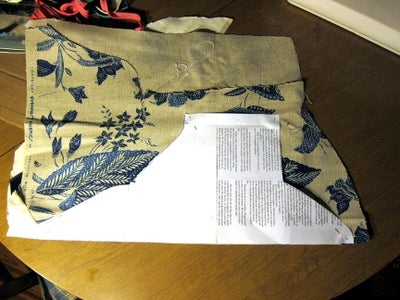 Cutting Out Fabric Pieces