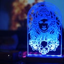 DIY Decorative Acrylic RGB LED Lamp