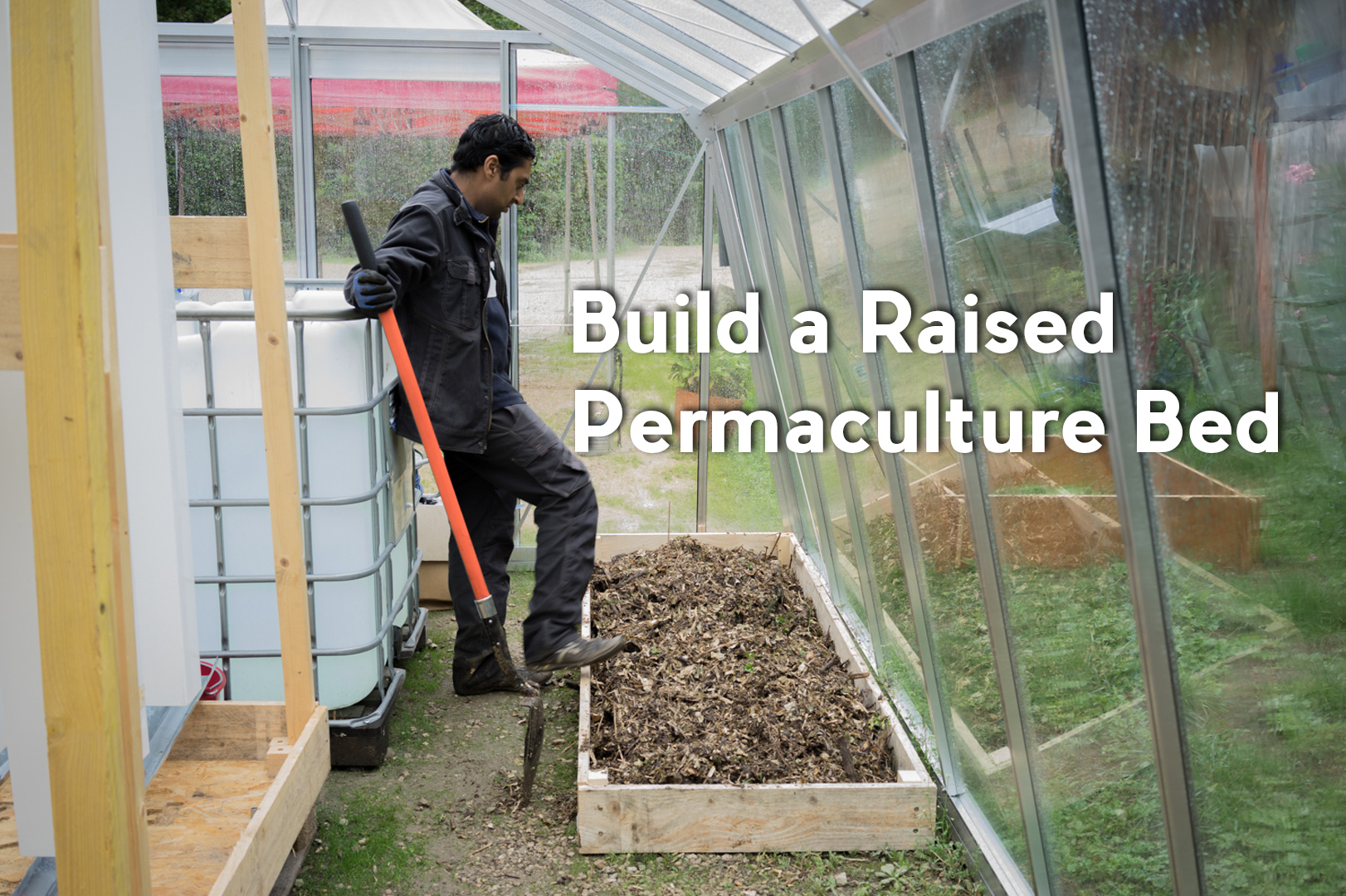 Picture of How to Build a Raised Permaculture Bed